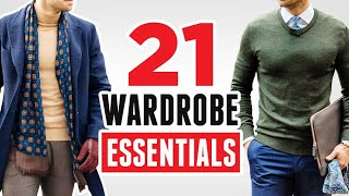 21 Wardrobe Essentials EVERY Young Man Needs To Own (Style Basics For Men) RMRS Fashion Videos