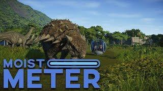 Moist Meter: Jurassic World Evolution