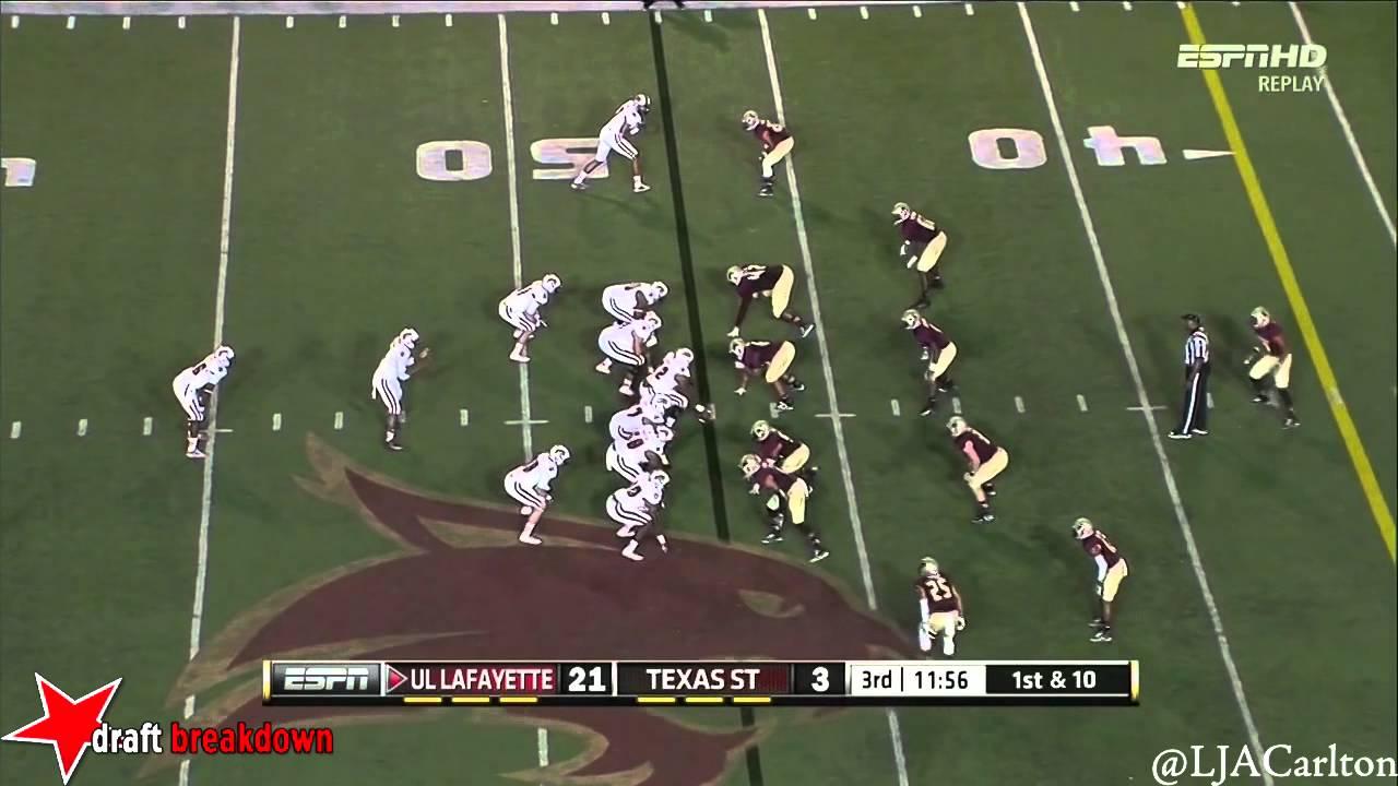 Craig Mager vs Louisiana-Lafayette (2014)