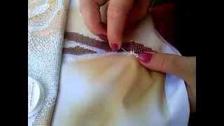Организация рабочего процесса, мой способ вышивания бисером