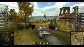 World of Tanks. Малиновка, заработок Lowe в бою с поражением .flv