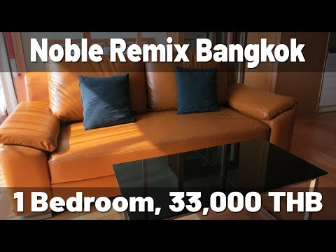 Noble Remix Thonglor BTS 1 bedroom apartment 33.000 baht