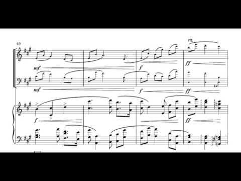 LEIN: Piano Trio (2014). 2. Minuet