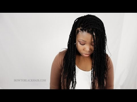 Rope Twist / Senegalese Twists 100% Kanekalon Synthetic Hair Tutorial Supplies Part 1