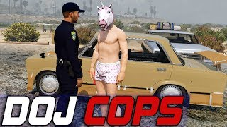 Dept. of Justice Cops #676 - The Unicorn Man
