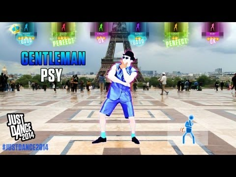 Psy - Gentlemen | Just Dance 2014 | Gameplay video