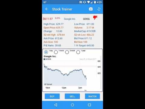 Stock Trainer: Virtual Trading APK Cover
