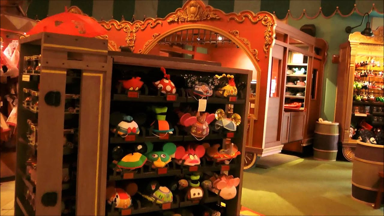 Big Top Souvenirs And Big Top Treats Magic Kingdom Walt