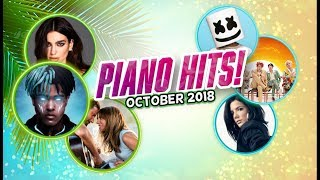 Piano Hits ? Pop Songs October 2018 : 1 hr of hits, music for classroom ,study pop instrumental
