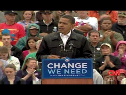 Obama : 'This campaign's about you'
