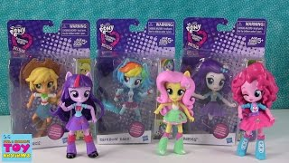 MLP Equestria Girls Minis Rarity Rainbow Dash Applejack   Toy Review Opening   PSToyReviews