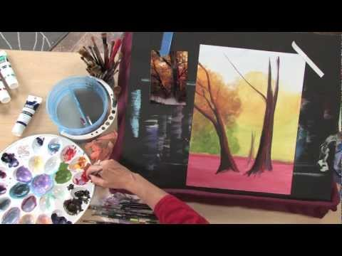 Art Lessons with Lee Hammond: Acrylic Landscape Painting