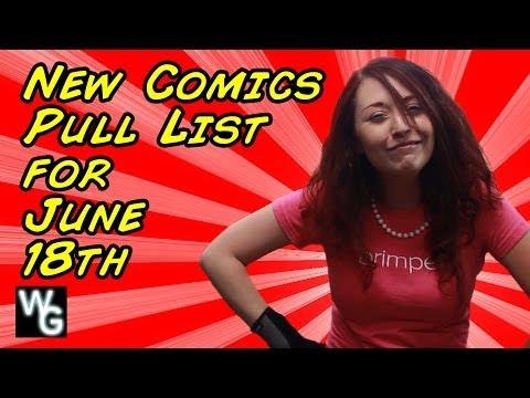 New Comics Pull List for June 18th