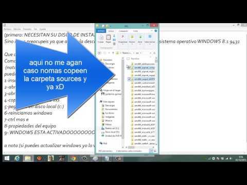 Como Activar Windows 8.1 Pro Y Quitar Build 9600