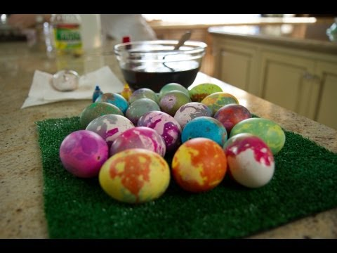 Tie-Dye Easter Eggs | ModernMom