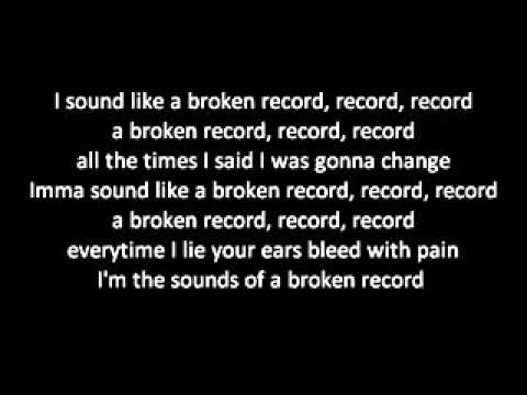 Jason Derulo   Broken Record W Lyrics video