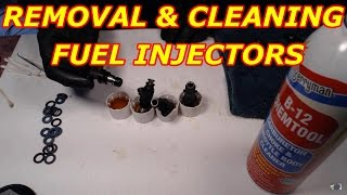2000 Tahoe Fuel Injector Removal and Cleaning New O Rings