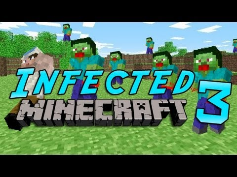 Minecraft: Infected w/Mitch Game 3 - Benja & Bacca