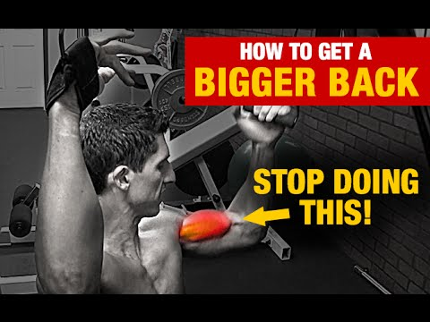 how to build big lats with dumbbells