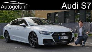 all-new Audi S7 Sportback FULL REVIEW 2020 - Autogefühl