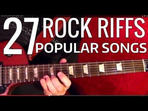 Lessons - Rock - 70s Riff I