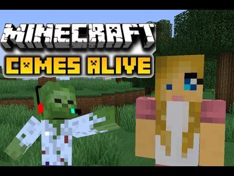 Minecraft 1.5.2: Como instalar Comes alive mod