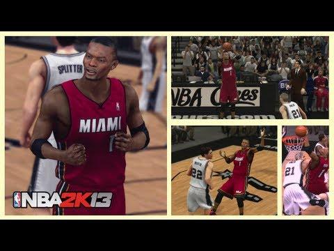 NBA 2k13 Team Up. Chris Bosh and The NBA Finals