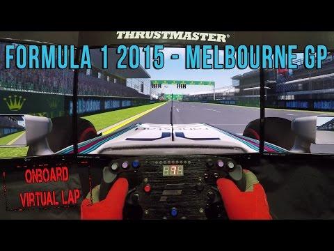 Formula 1 2015 - Melbourne GP (Onboard Virtual Lap)