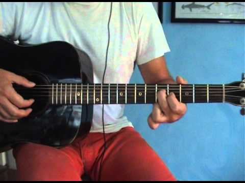 The Rain SongLed ZeppelinGuitar lesson in open tuning part 1