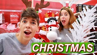 CHRISTMAS SHOPPING AT TARGET (VLOGMAS DAY 4)