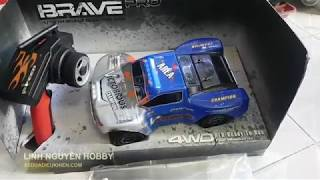 Test mini racing car - small high speed rc car - Electric RC rally car