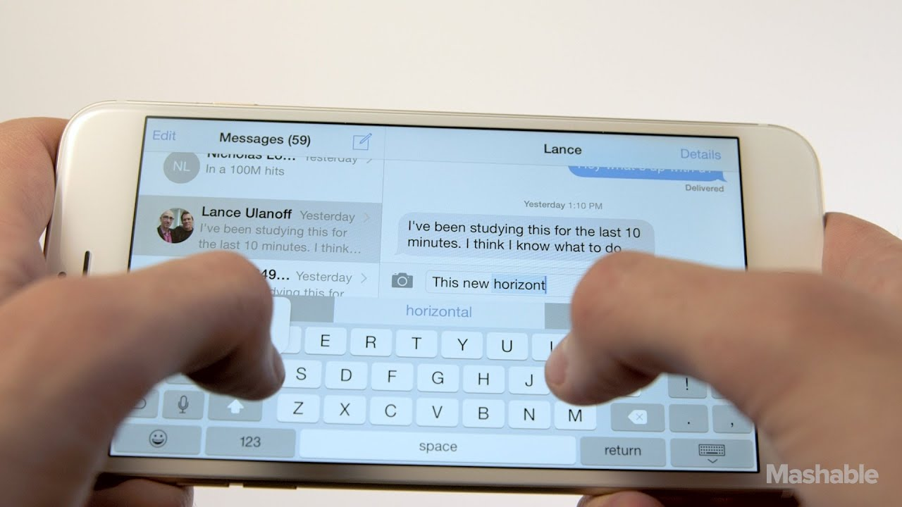 how to close keyboard on iphone