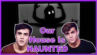 Our New House Is HAUNTED!
