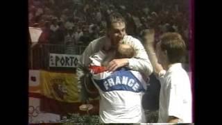 JO Barcelone 1992 - SH 3e place Lamour (FRA) vs Scalzo (ITA)