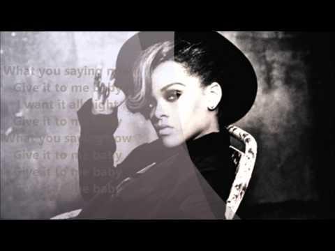 Rihanna- Talk That Talk Lyrics On Screen video
