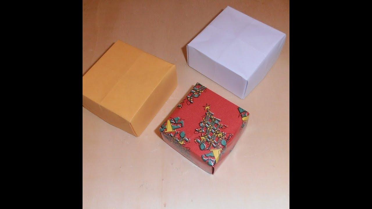 Origami cajitas de papel youtube - Como hacer una mampara de ducha ...