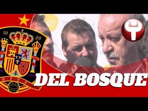 Del Bosque, junto al fútbol inclusivo