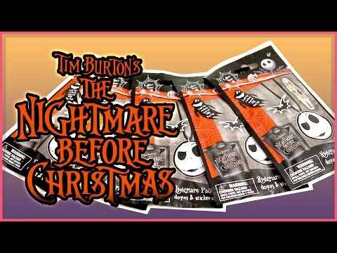 The Nightmare Before Christmas Dog Tags - Blind Bags