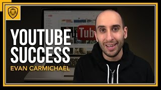 10 Secrets on Building a Successful YouTube Channel (@EvanCarmichael)