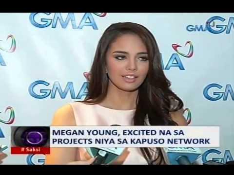 Saksi: Megan Young excited na sa projects niya sa Kapuso Network