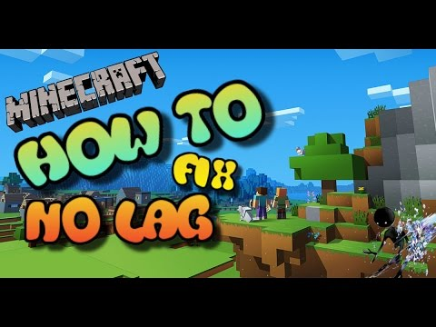 How To Fix LAG In Minecraft