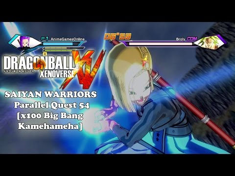 Watch Saiyan warriors dragon ball xenoverse parallel quest ...