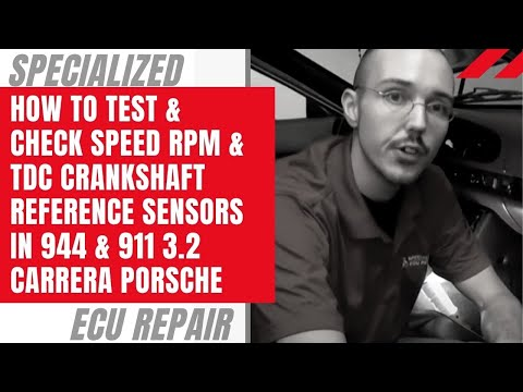 How To Test RPM & TDC Sensors in 944 and 911 3.2 Carrera Porsches