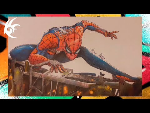 Drawing - Spider Man | Человек Паук [2018]