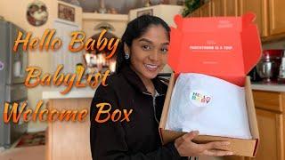 BABYLIST HELLO BABY BOX UNBOXING (Free)
