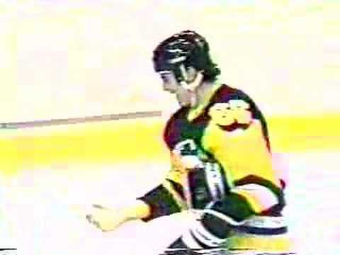 NHL - Mario Lemieux - First NHL Goal Video