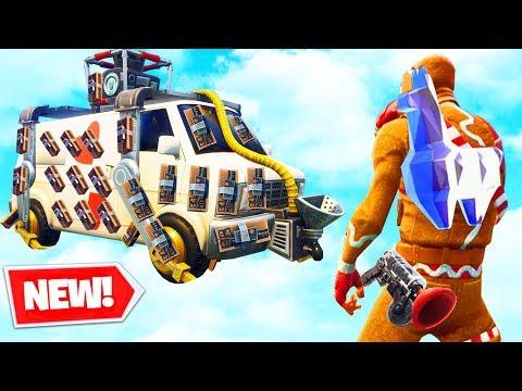 *NEW* EXPLOSIVE ESCAPE TRUCK (Getaway LTM) - Fortnite
