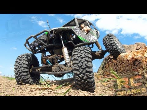 RC ADVENTURES - Axial Wraith - Bashing. Rock Crawling. & Smashing the Trail