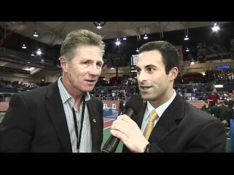 Eamonn Coughlin &quot;Chairman of the Boards&quot; at Millrose 2012 broadcast interview