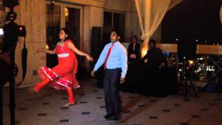 Asheem & Sonia's wedding reception performance